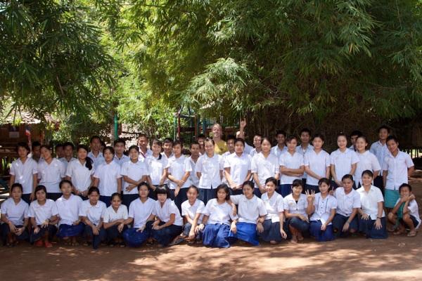 P'ya Daung School Children, Maesot, Thailand
