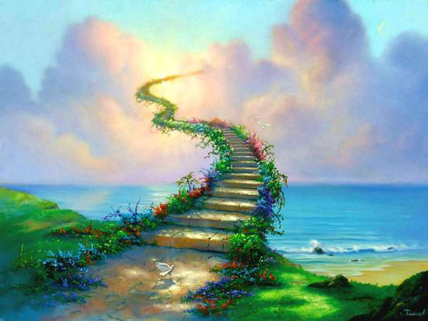 Led Zepplin - Stairway to Heaven (illustration by Jim Warren)